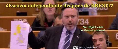 ¿Escocia independiente después de BREXIT?
