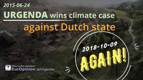 Urgenda wins climate case against Dutch state.
