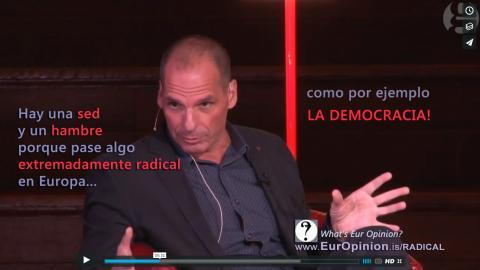 ...algo muy radical, como: la Democracia!